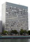 Das Hochhaus der CIBA von 1963/64, heute NOVARTIS