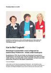 Gut in Bio? Logisch! Artikel aus dem Westfalenblatt vom 21.11.2013 (Seite 1)
