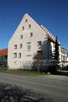 Haus mit Zinnengiebel in der Klosterstrasse