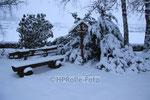 Winter auf dem Friedhof