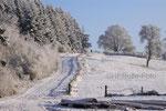 Panoramaweg in Aasen im Januar 2009