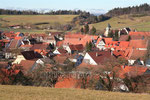 Unterdorf von Aasen mit Kirche