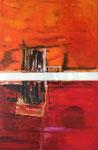 Palazzo Reale_Acryl, Öl, Stoff auf Leinwand_120x70