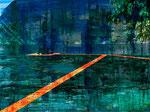 Über das Wasser_Fotocollage_Druck auf AluDibond_60x80