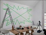 FRAME, 2020, Installationsansicht: Galerie Brigitte March, Stuttgart