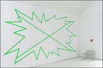 FRAME, 2020, 400 x 750 cm, Ausstellungsansicht: Galerie Brigitte March, Stuttgart