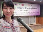 2017年11月 アジアマスターズ・ライフル射撃大会懇親会 バイリンガルMC