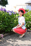 2017年度は稲沢市キャンペーン・レディーとしても活動 あじさいまつりにて