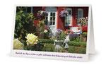 3) Glückwunschkarte (Klappkarte - 182x117 cm) 1,80 €