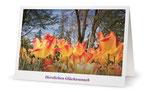 2) Glückwunschkarte (Klappkarte - 182x117 cm) 1,80 €