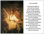 95) Postkarte mit Gebet 1,00 €