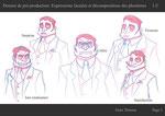 Dossier de pré-production - Page de recherches d'expressions