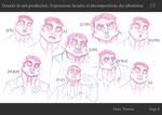 Dossier de pré-production - Page de recherches de phonèmes