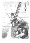 """Couverture pour """"L'île au tresor"""" de Robert Louis Stevenson - Mise en ambiance"""