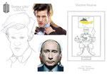 Caricatures de célébrités