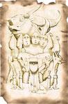 """Illustration sur des oeuvres d'Art """"primitif"""""""
