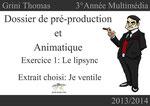 Dossier de pré-production - Page de présentation