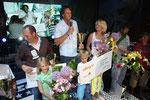 """Der Sieger Steve Allen mit Familie oder auch """"Team Steve Allen"""""""