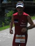Bereits nach der ersten Hälfte des Marathons