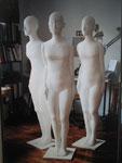 """Mannequin labyrinthe Expo. """"artifices"""" 2007 Musée ethnographie de NE"""