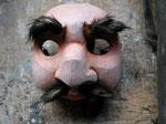 Villageois: masque en bois 2014