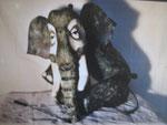 """""""A dos d'éléphant"""" 2002 Th. de la Poudrière NE"""