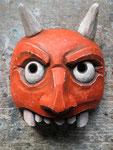 Démon: masque en bois 2014