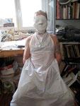 """Moulage d'un visage """"Gargantua"""" 2011 TMG / Parfumerie"""