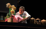 """""""Sautecroche aux petits oignons"""", 2014 / Théâtre musical M. Henchoz et B. Knobil. Théâtre """"Le Reflet"""" Vevey"""