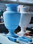 Vase en polystyrène