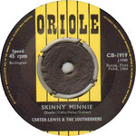 Skinny Minnie/Easy to Cry Oriole CB 1919 1964