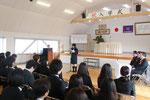 平成25年度入学式 在校生代表歓迎の言葉