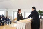 平成25年度入学式 新入生代表誓いの言葉