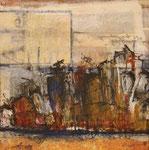 Darss, 2011, Collage, 24x24cm, verkauft