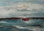 Weites Meer, 2016, MT auf Leinwand, 70x50 cm, verkauft