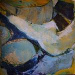 Blauferne Insel, 2006, Acryl auf Leinwand, 100x100cm, verkauft