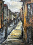 Venedig,2015, MT/Collage auf Karton