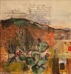 Ligurien  II, 2012, Collage, 28x28cm