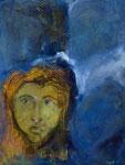 Blauer Traum, 2014, Acryl auf Leinwand, 60x80cm, verkauft
