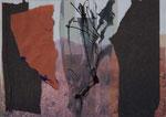 Gespinnst, 2004, Collage, 29,7x21cm