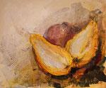 Granatapfel und Quitten, Collage 2019