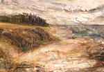 Herbst am Weststrand,2018, Collage, 34x26 cm, verkauft