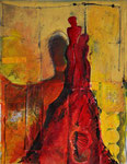 Alles Rot, 2012, MT/Collage, 35x48cm, verkauft