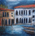 Venezia, 2020, MT auf LW, 40x40 cm