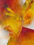 Fragmente, 80x60cm, Acryl