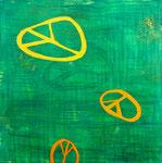 Wishful Thinking III, 80x80cm, Acryl