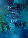 Hinter'm Zaun, 60x80cm, Acryl, 2017