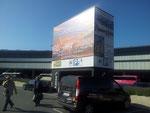 Abholung der Firma bott vom Flughafen Wien - Schwechat