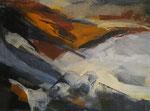 Leinwand-Acryl - 40x30 cm - Landschaft 1