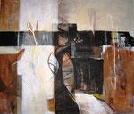 Leinwand-Acryl - 70 x 60 cm